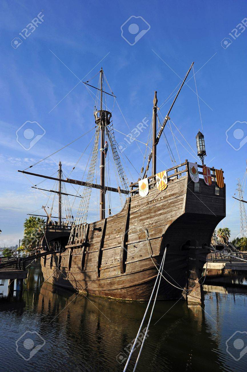 the ship santa maria of christopher columbus discovery of america