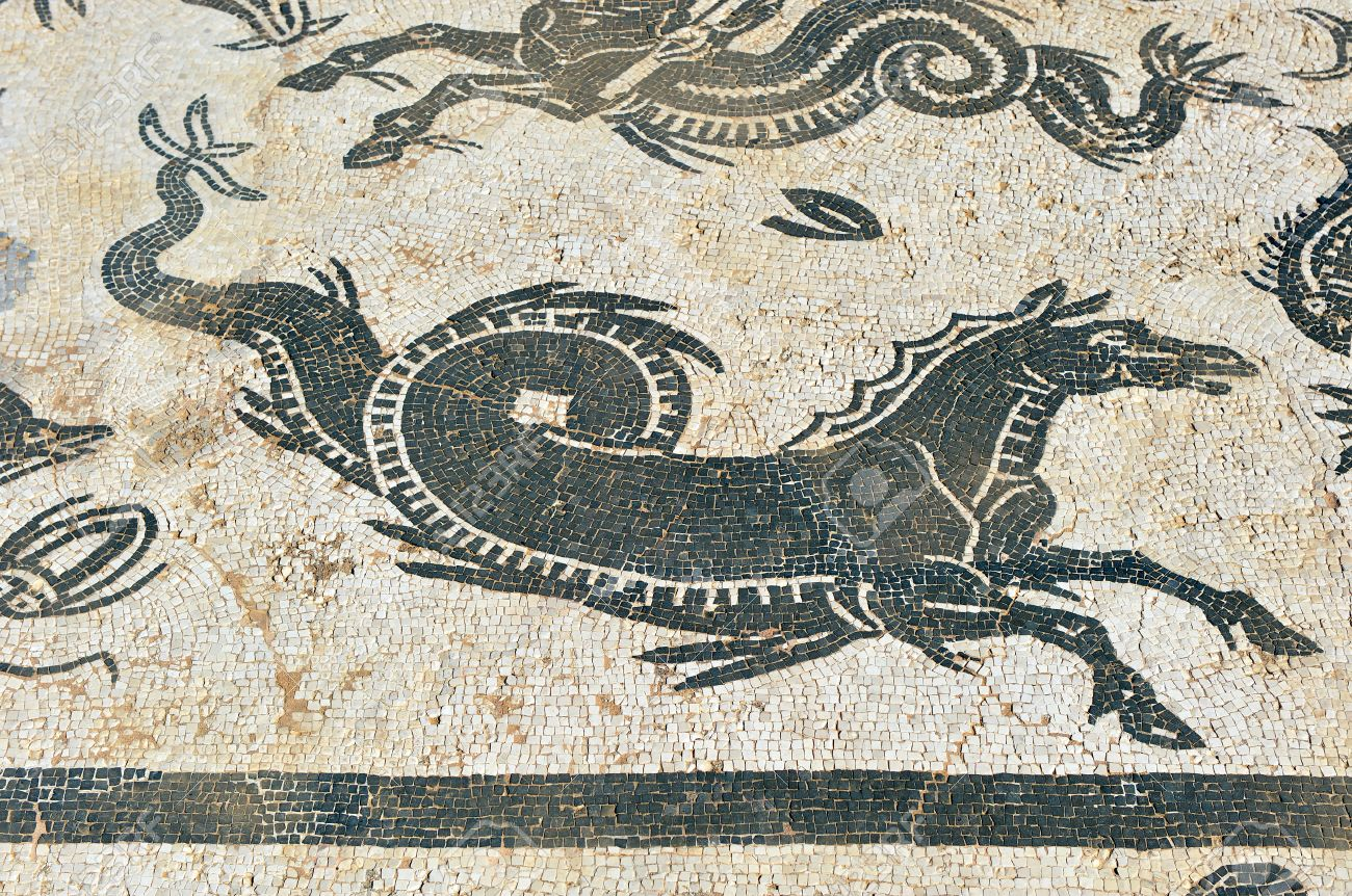 Image result for hippocampus mosaic