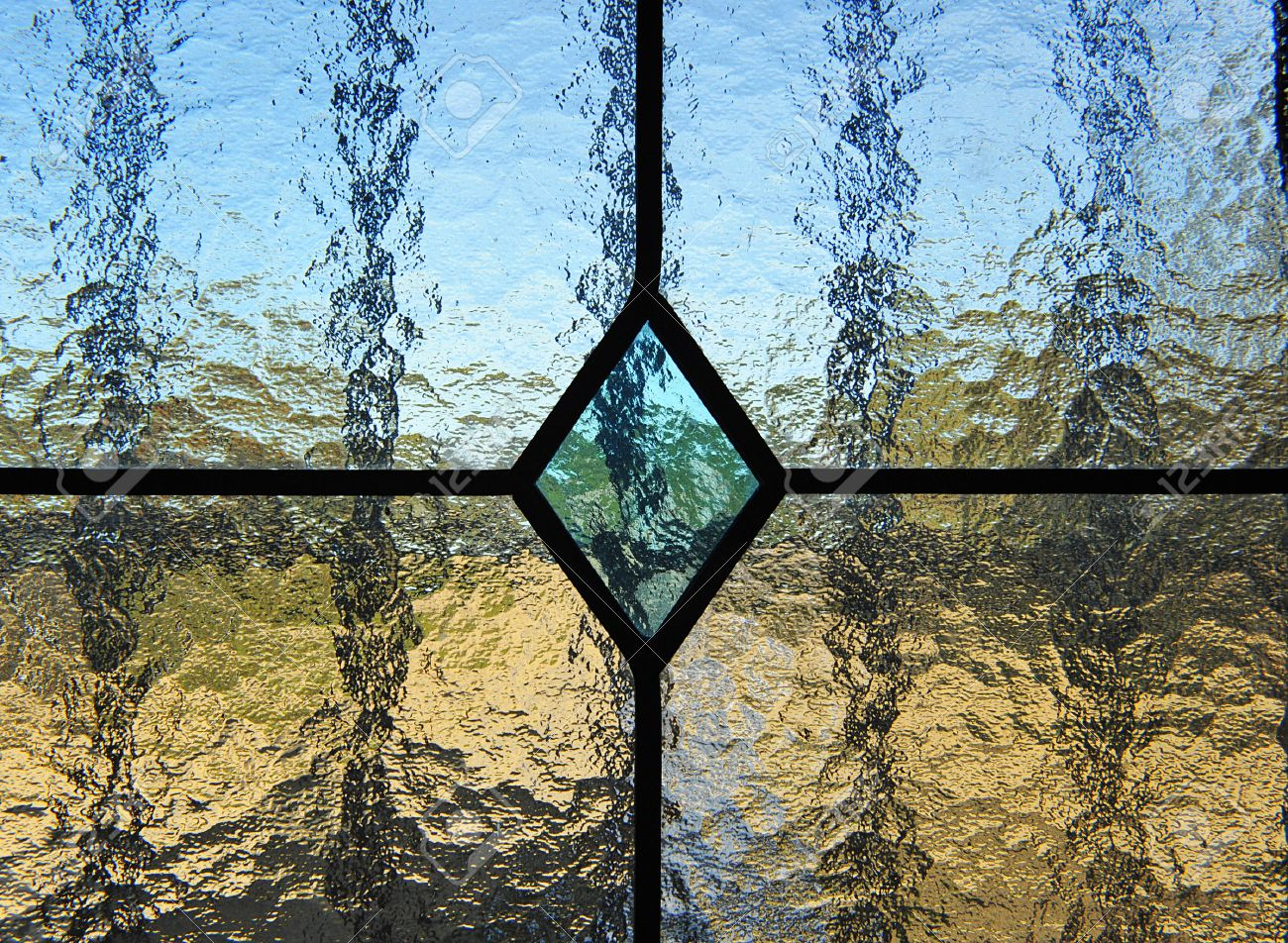Glass Window Texture glass window, stained glass texture, transparency stock photo