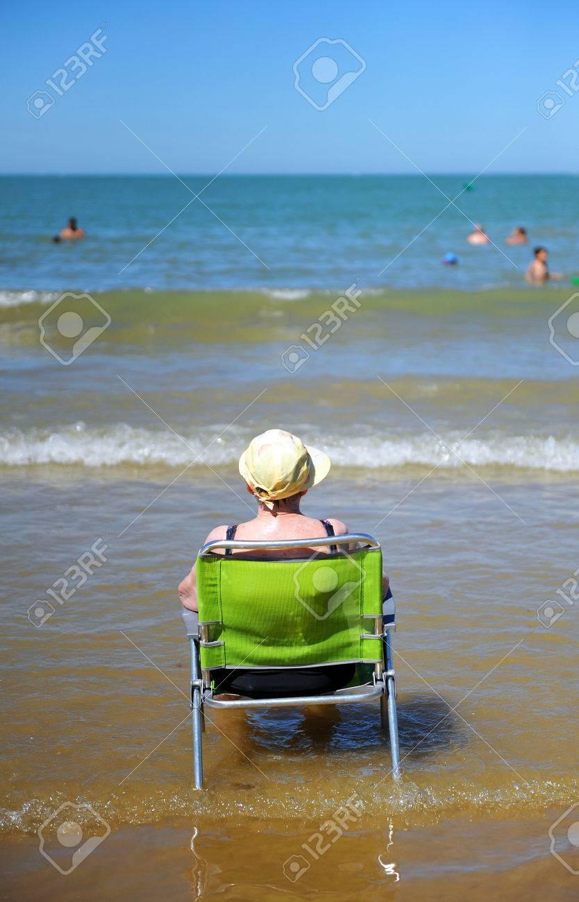 sillas de playa en cadiz