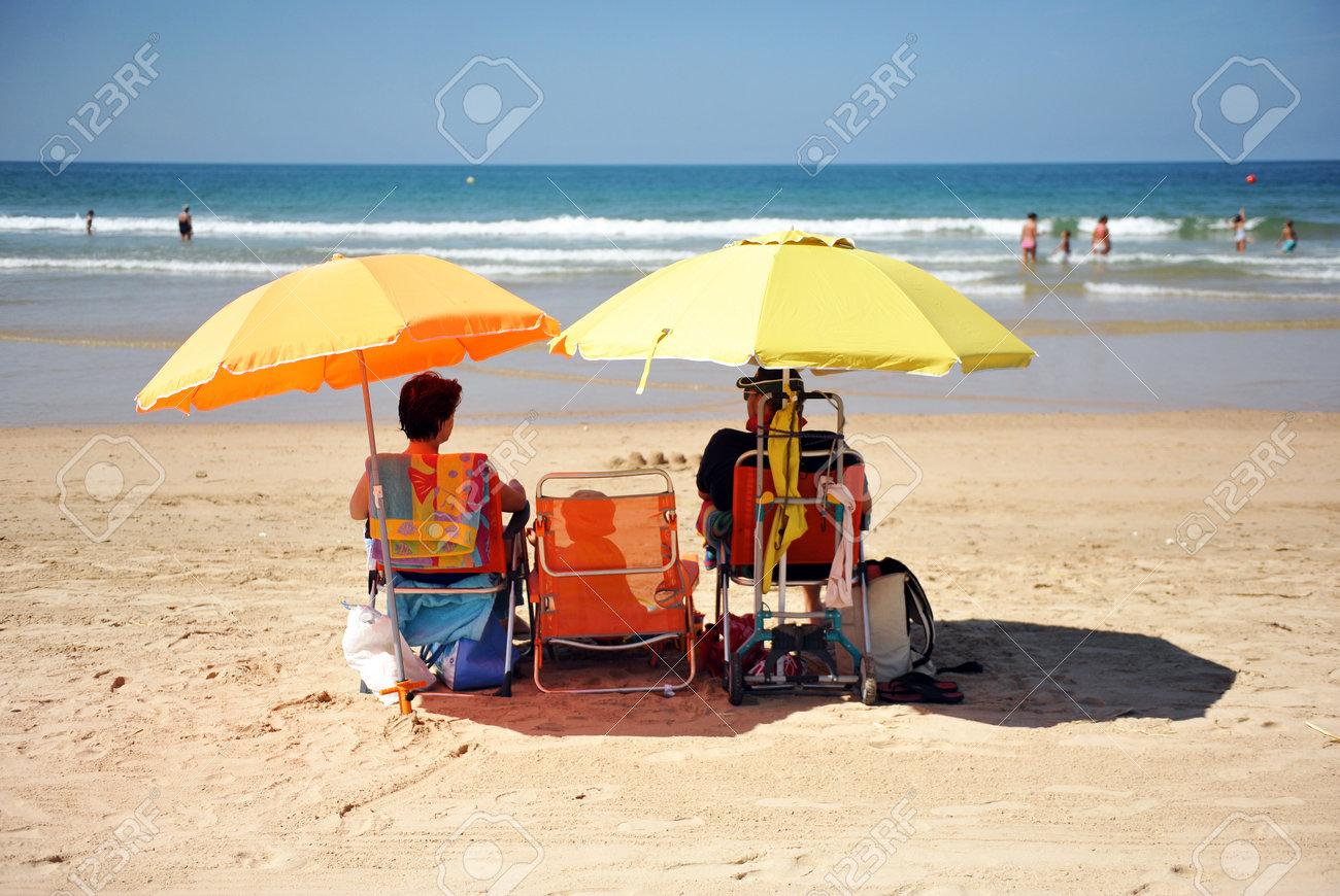 playas espana familia