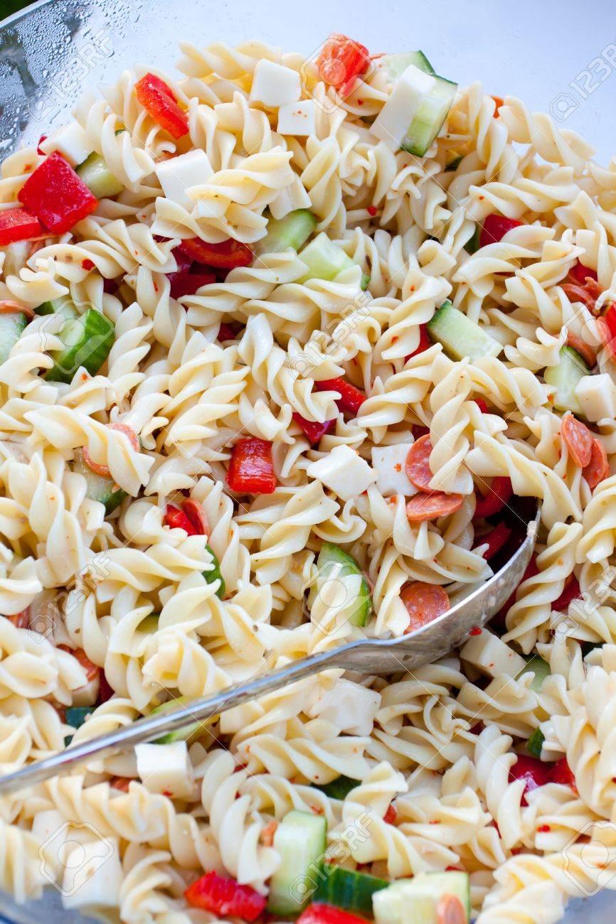 Wedding pasta salad at a buffet Stock Photo - 16857052