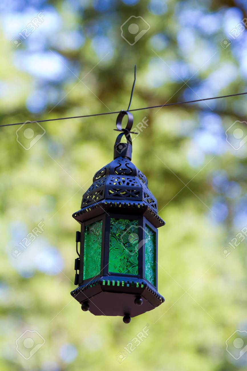 Vintage Wedding Decor Includes These Hanging Lanterns At A Reception Stock Photo Picture And Royalty Free Image Image 28676310