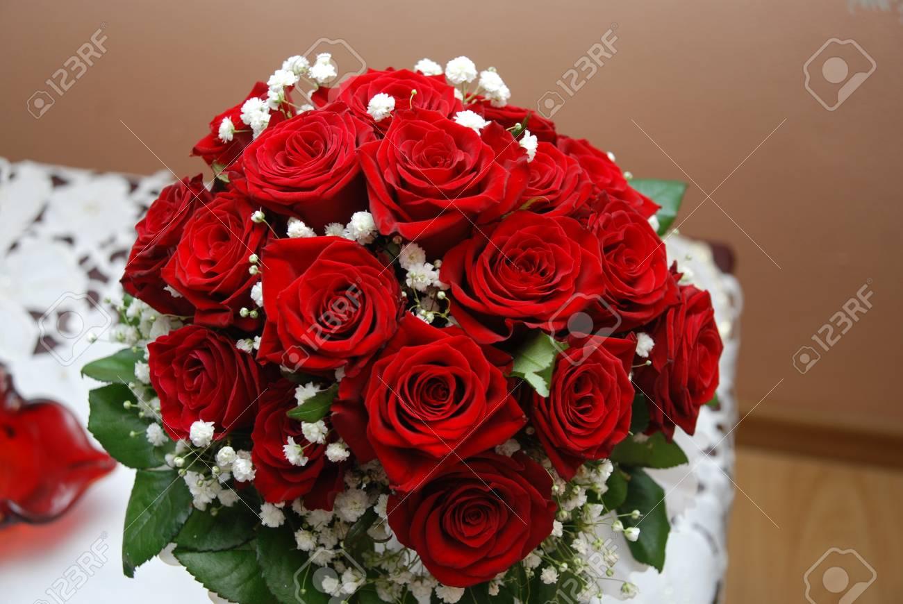 Hochzeitsstrauss Aus Blumen Lizenzfreie Fotos Bilder Und Stock