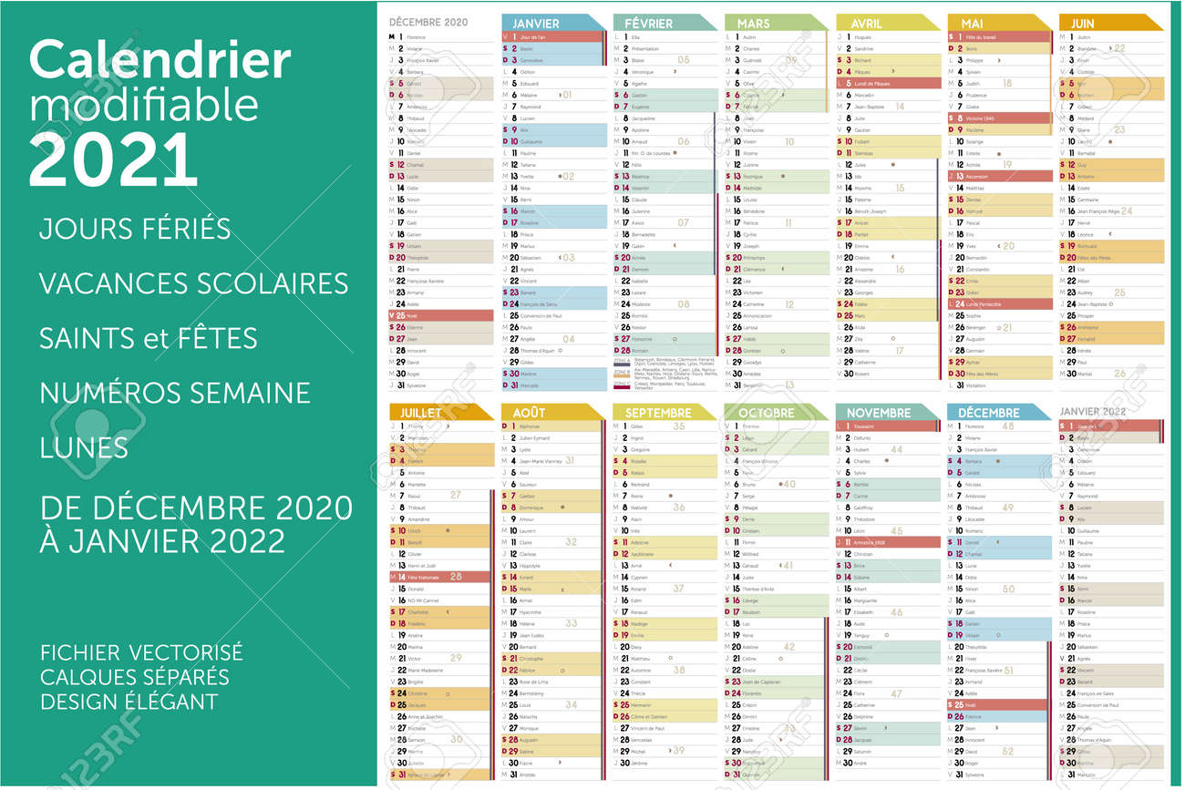 Calendar 2021 - 157184685