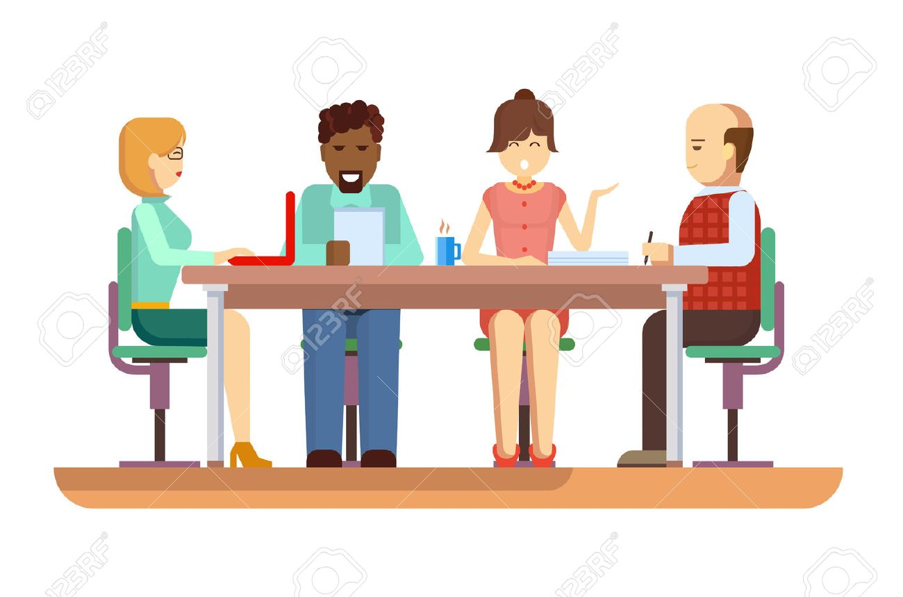 business briefing meeting and corporate office work team business briefing meeting and corporate office work team businesspeople partner and employee