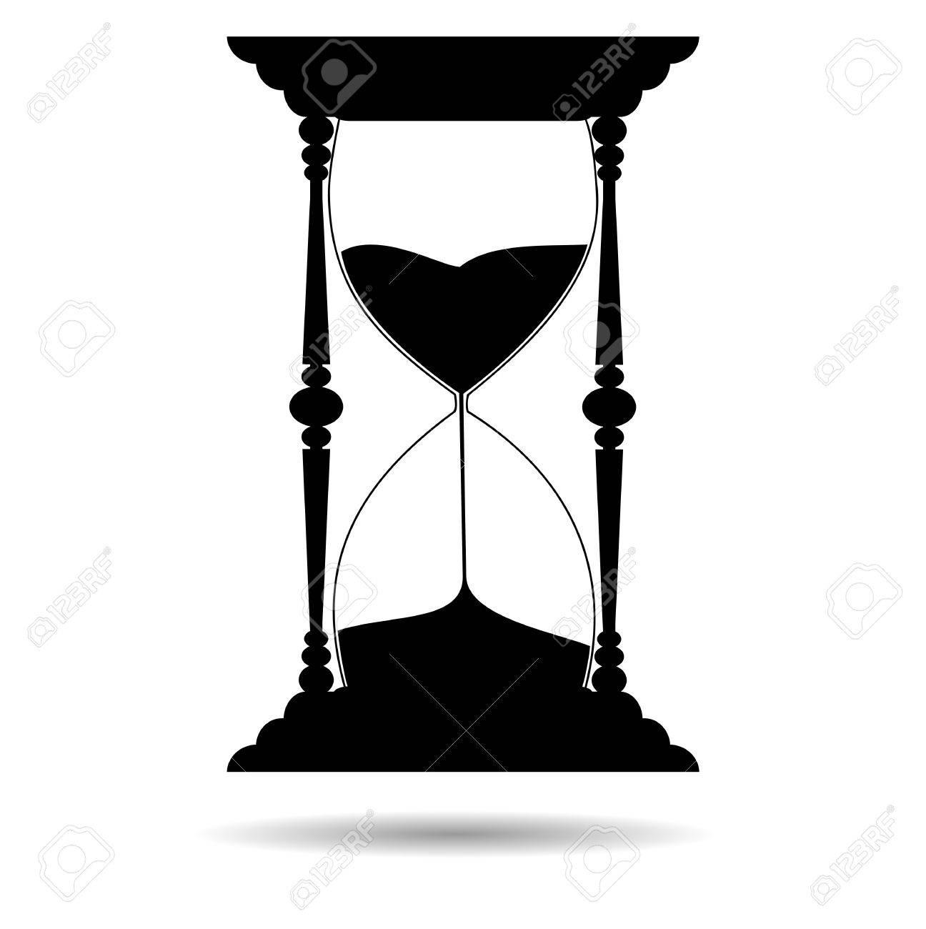 Silueta Reloj de Arena Visite:   Reloj de arena