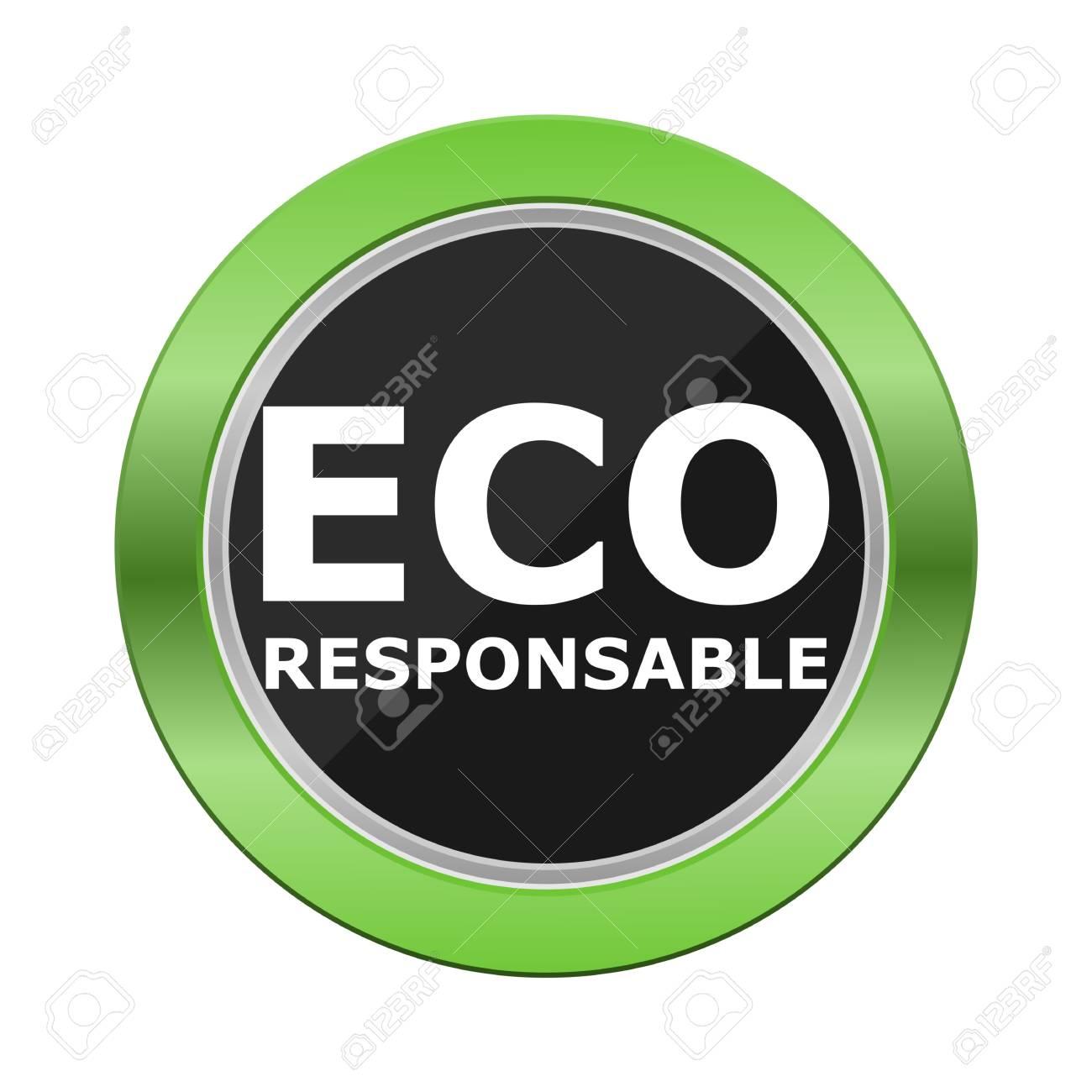 Eco Responsable Green Button - 52019820