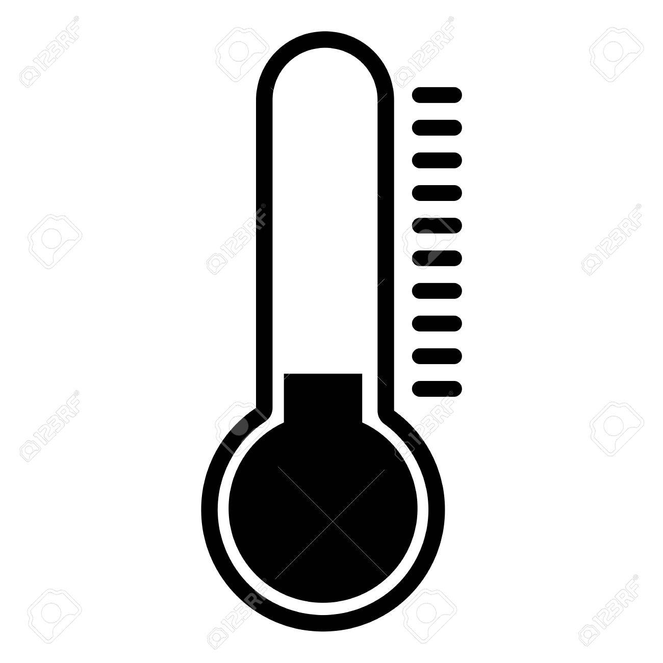 Thermometer Clipart Black And White