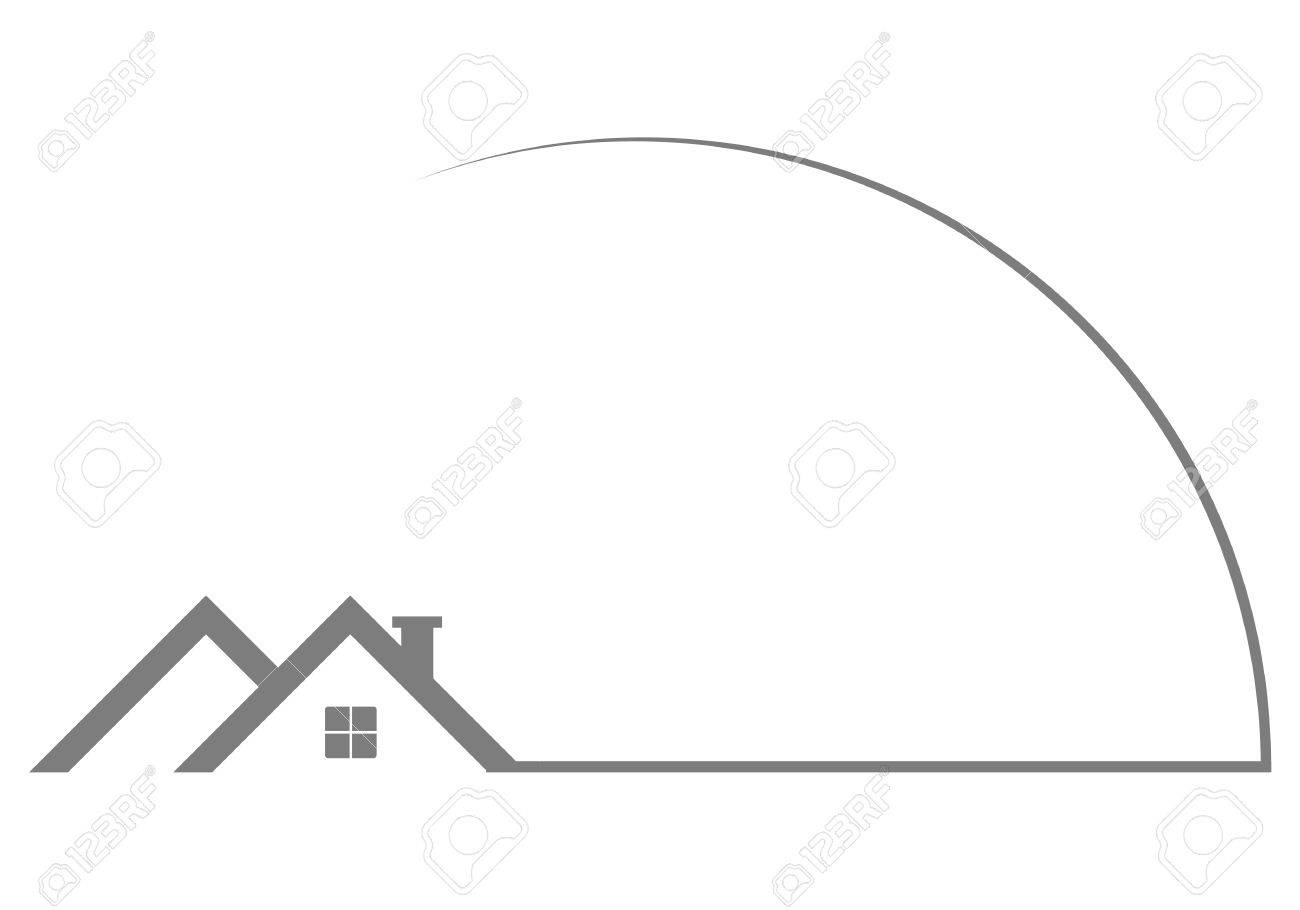 Rooftop Logo For Design Royalty Free Cliparts Vectors And Stock Illustration Image 54427892