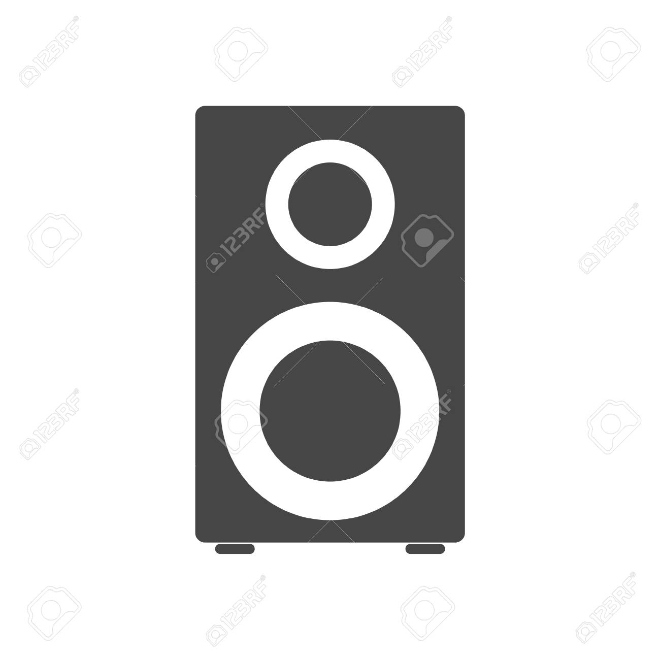 Speaker Icon Royalty Free Cliparts, Vectors, And Stock Illustration ...