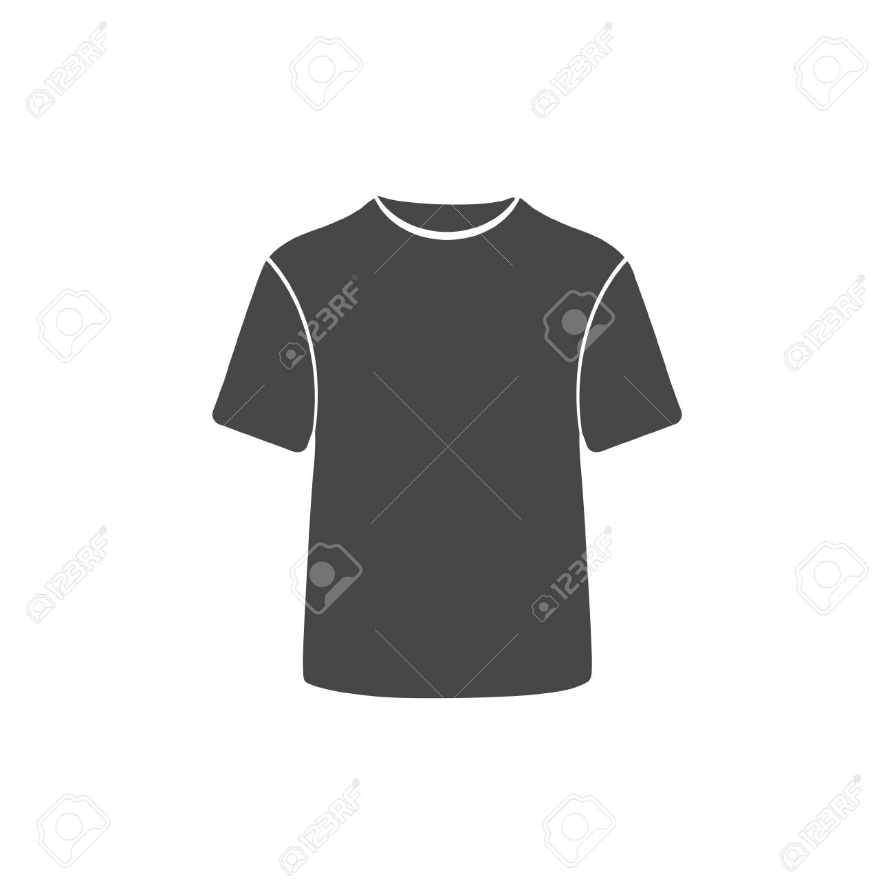 t shirt vector icon vector blank tshirt icon symbol royalty free cliparts vectors and stock illustration image 66804572 123rf com