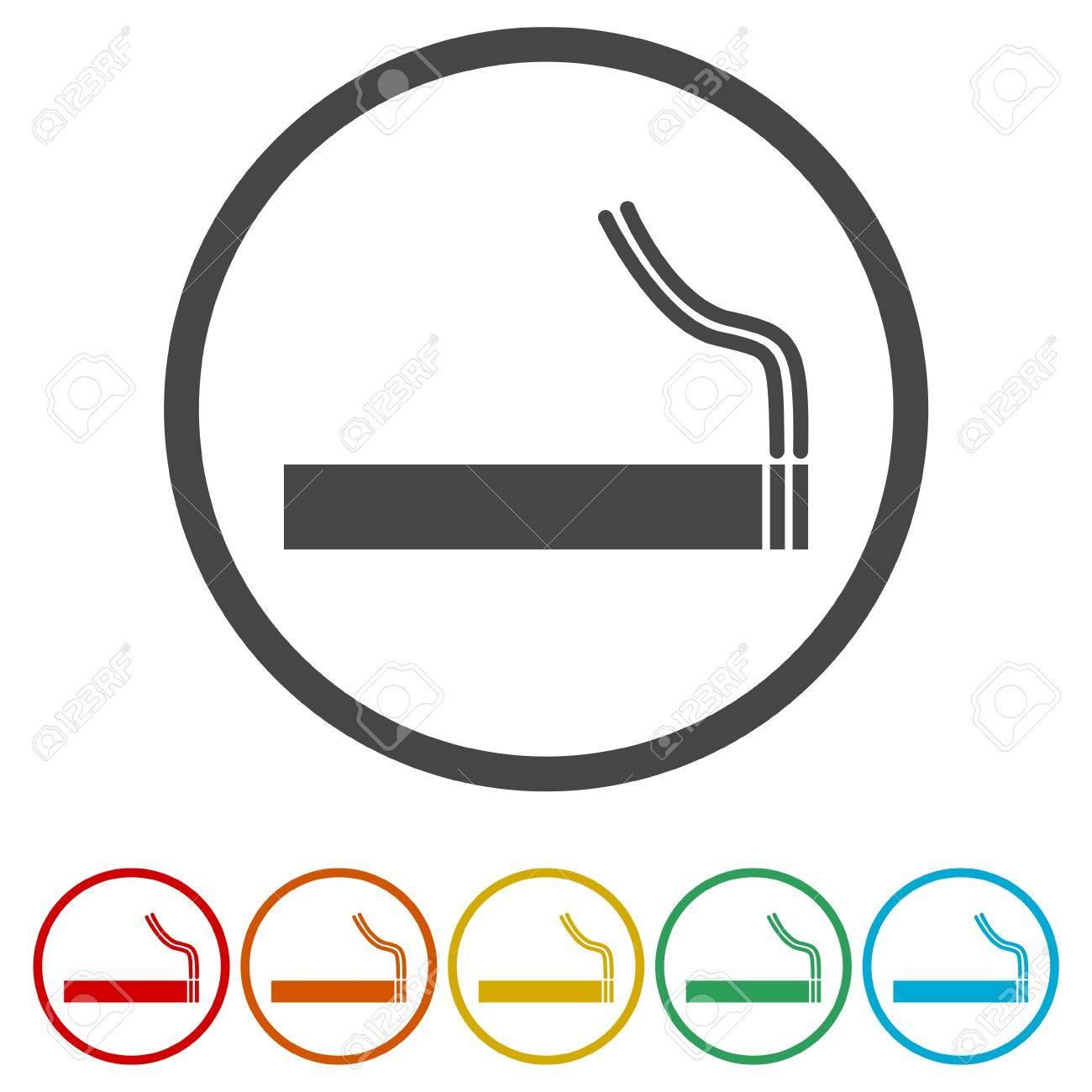 Ic Ne De Cigarette Panneau De Tabac Symbole Fumeur Clip Art Libres