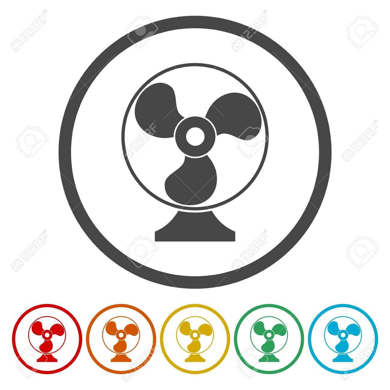 Exhaust Fan Icon Ventilator Symbol Royalty Free Cliparts Vectors