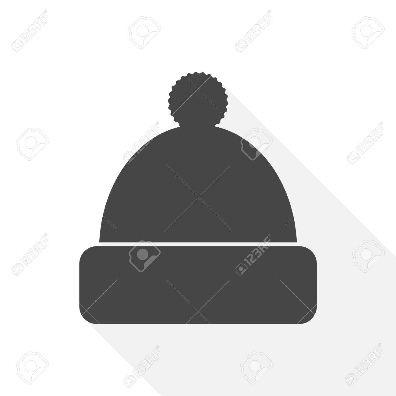 d9a9fd07bce Winter Snowboard Cap Icon - Illustration Royalty Free Cliparts ...