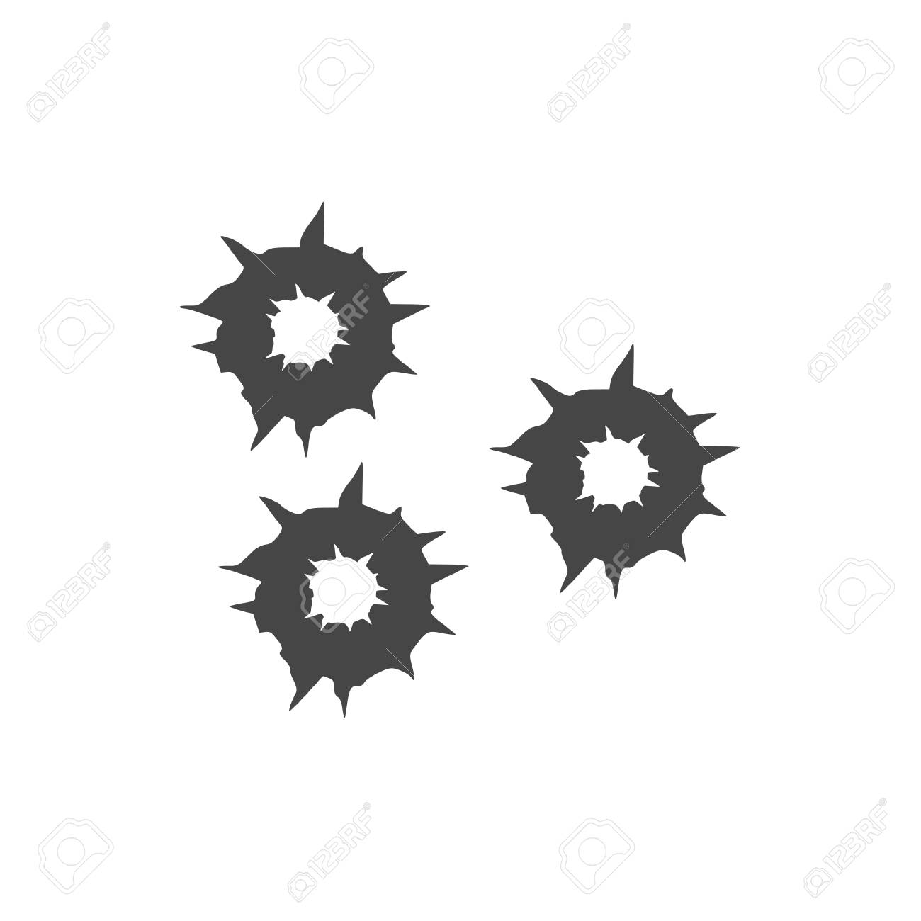 bullet holes vector royalty free cliparts vectors and stock rh 123rf com bullet hole vector art bullet hole vector art free