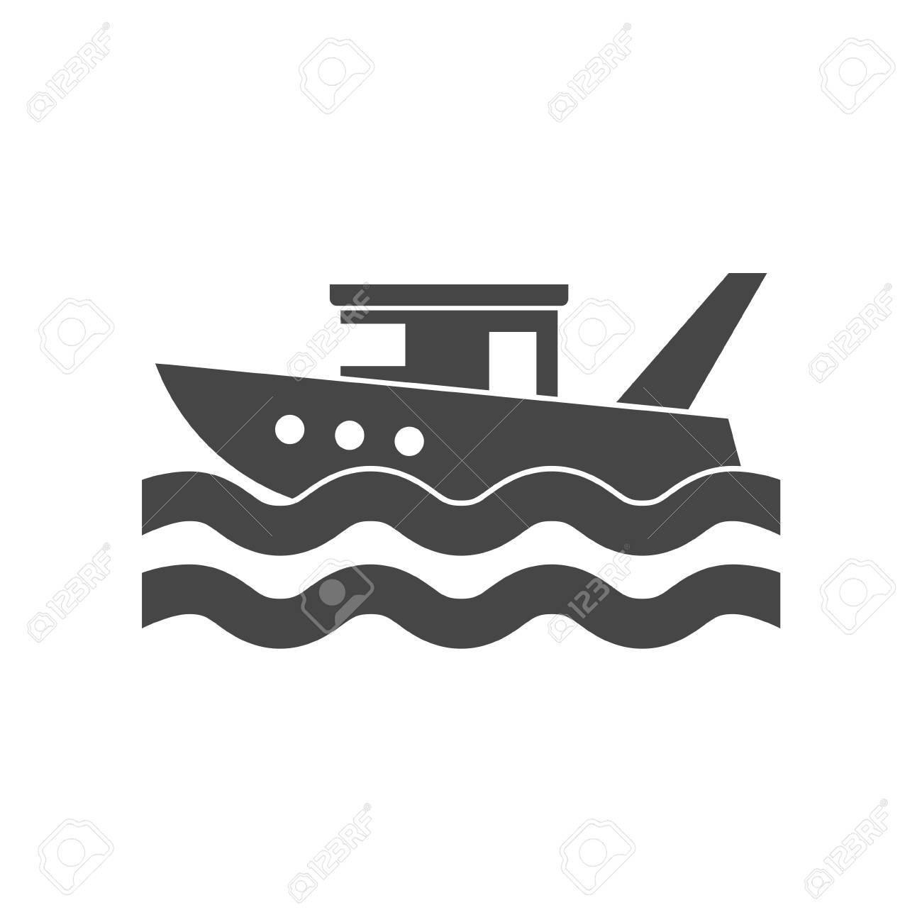 Fishing boat in the sea - 104219870