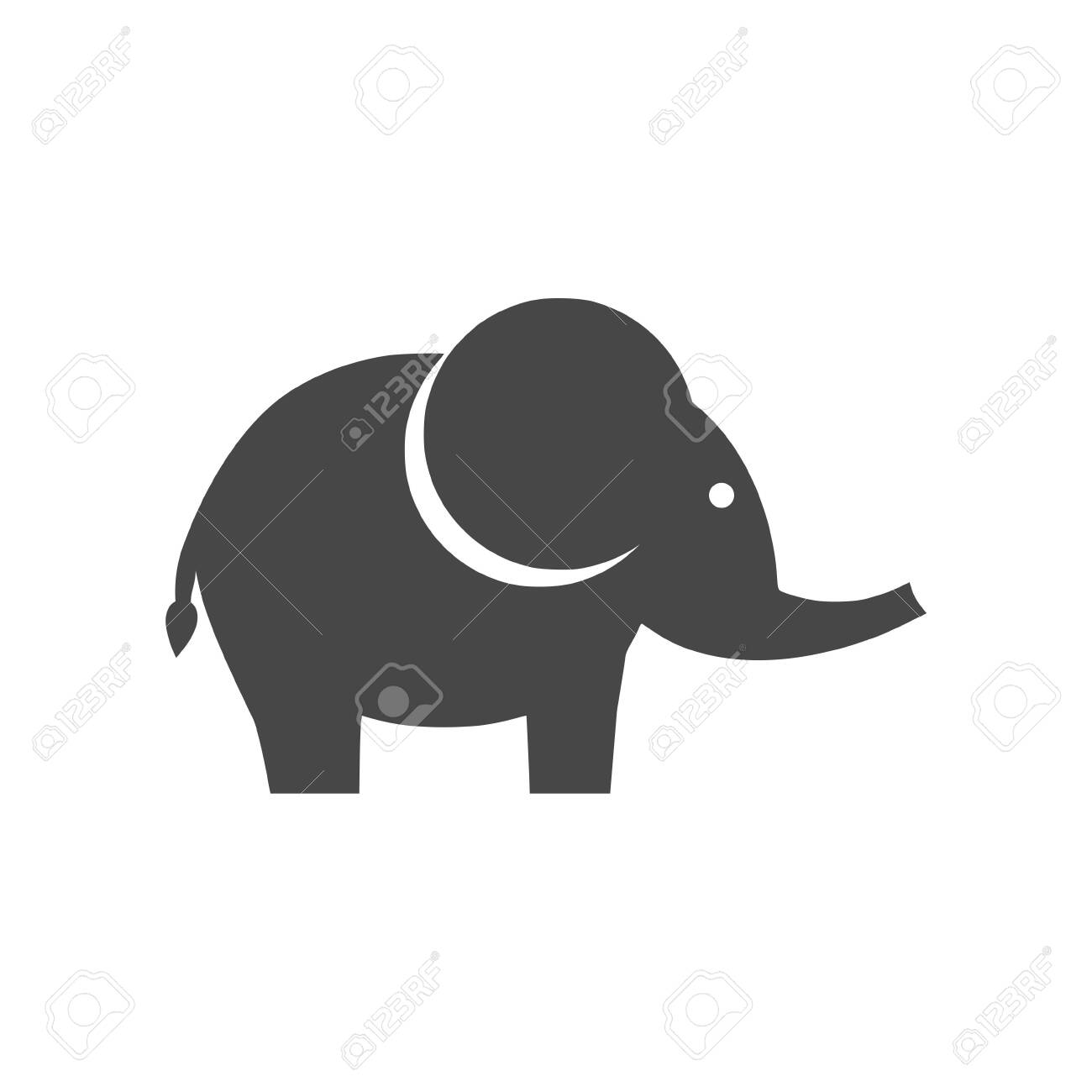 cute little one baby elephant icon royalty free cliparts vectors and stock illustration image 138275969 123rf com