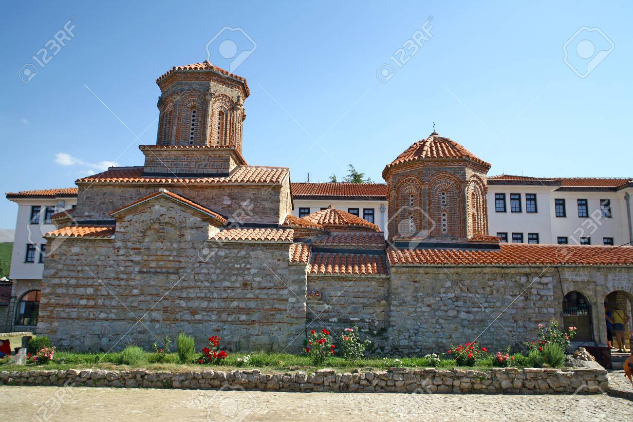 Macedonia, ex Yugoslav republic, South Europe. Old Orthodox church. Stock Photo - 7026598