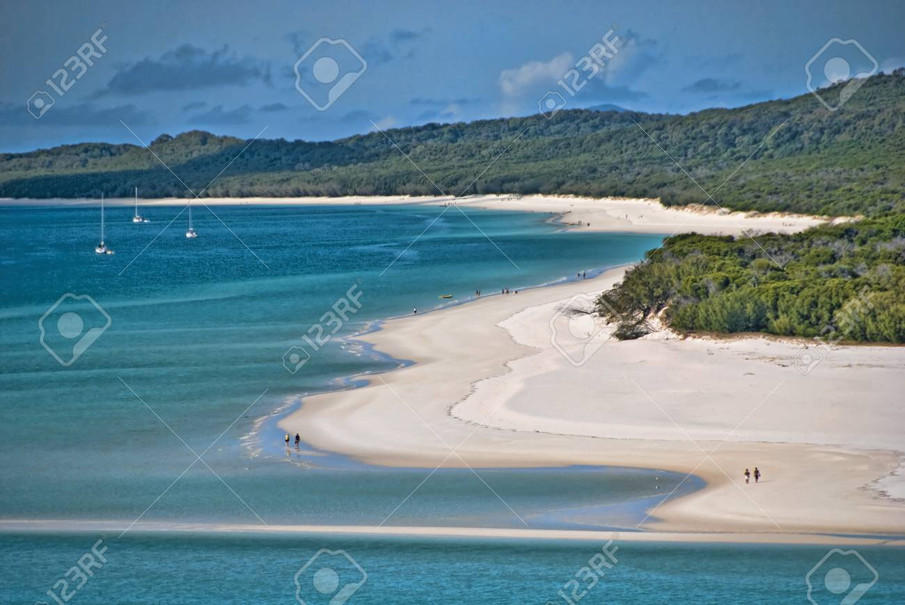View of the Whitsunday Islands National Park, Queensland Stock Photo - 6969198