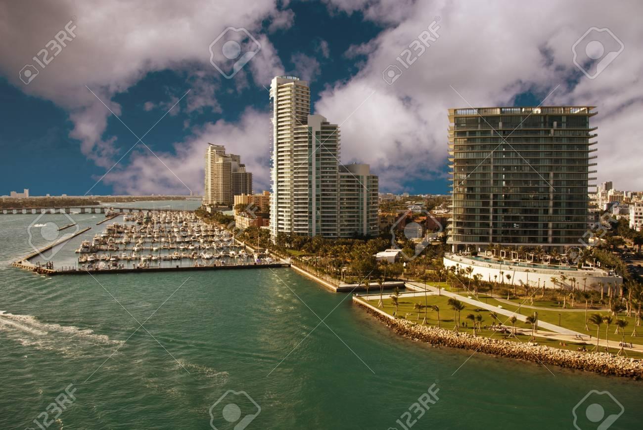 Miami Beach Coast in Florida, U.S.A. Stock Photo - 8757858
