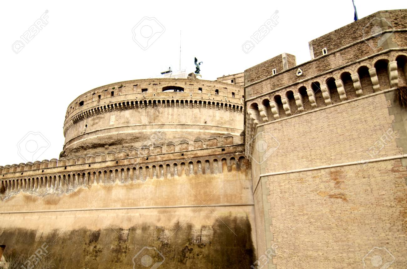 Castel Sant'Angelo in Rome, Italy Stock Photo - 9607877