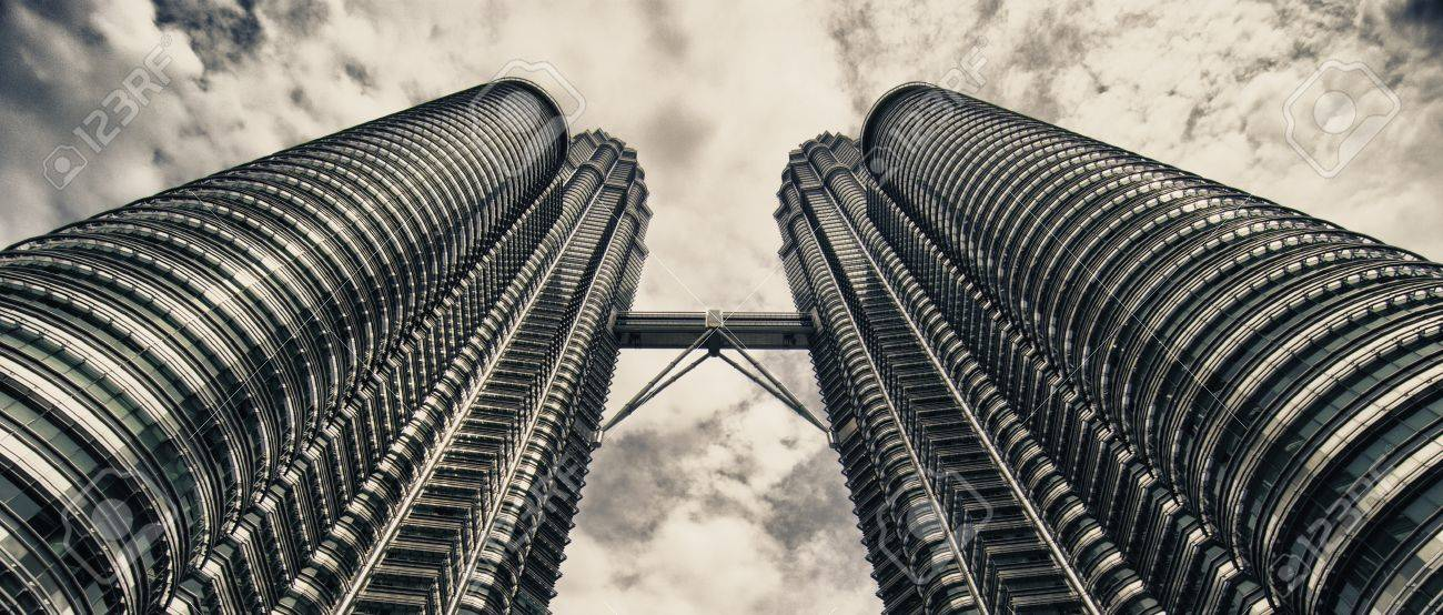 Architecture Detail Of Kuala Lumpur In Malaysia Stock Photo