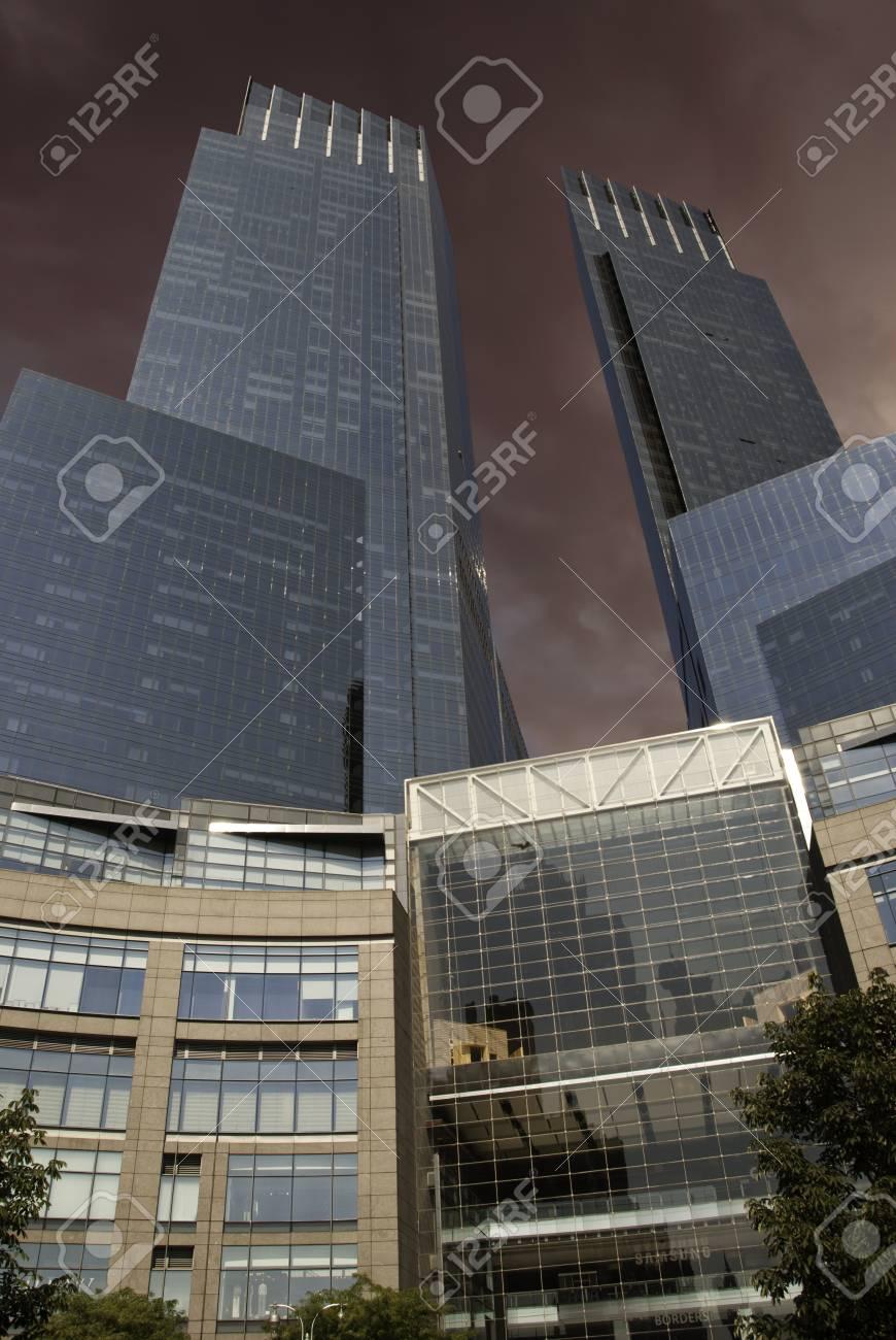 Modern Buildings of New York City, U.S.A. Stock Photo - 13980855