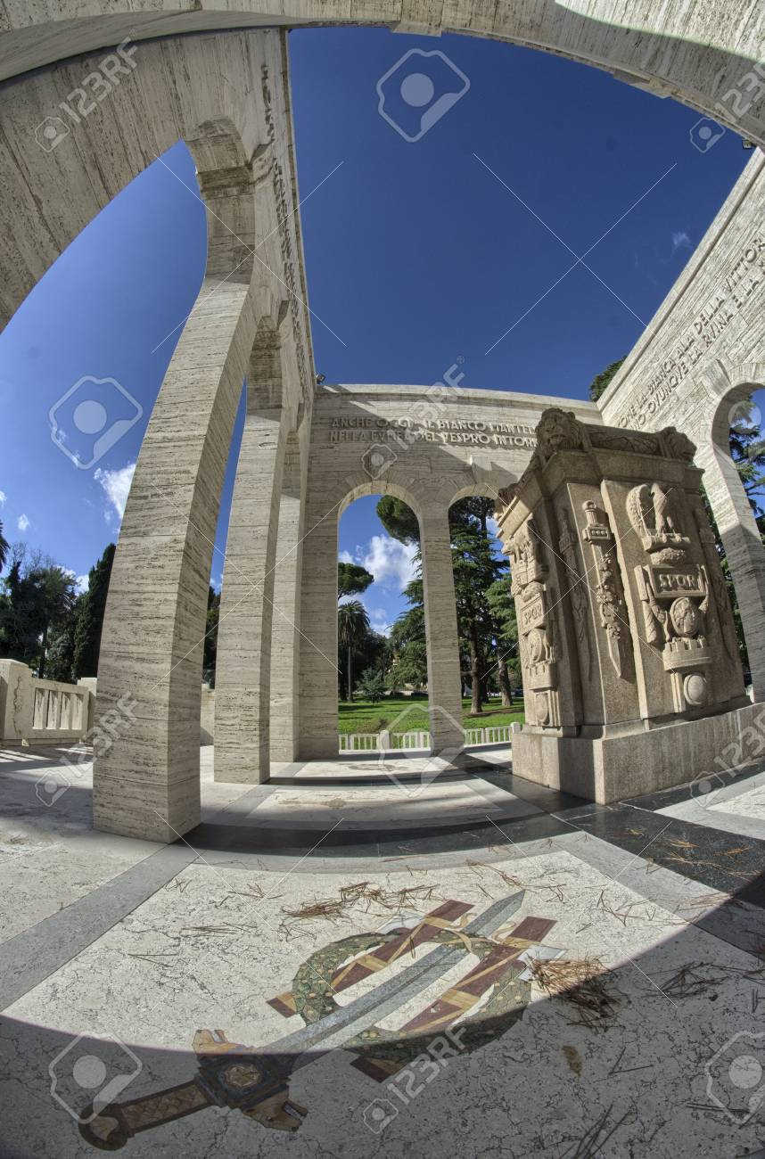 Janiculum in Rome - Italy - Architectural Detail  Stock Photo - 16558246