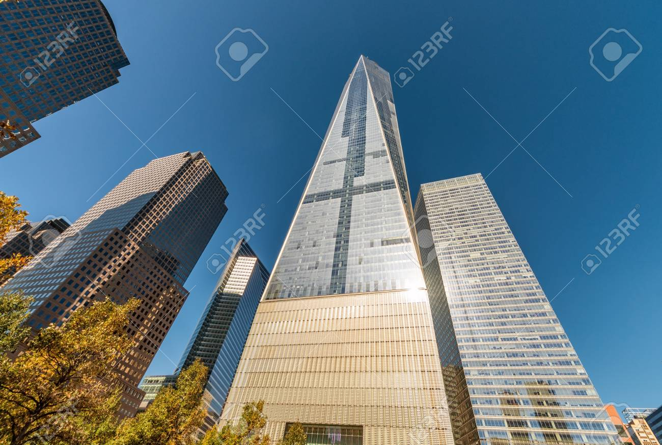 Modern skyline of New York City - Manhattan. - 68694195