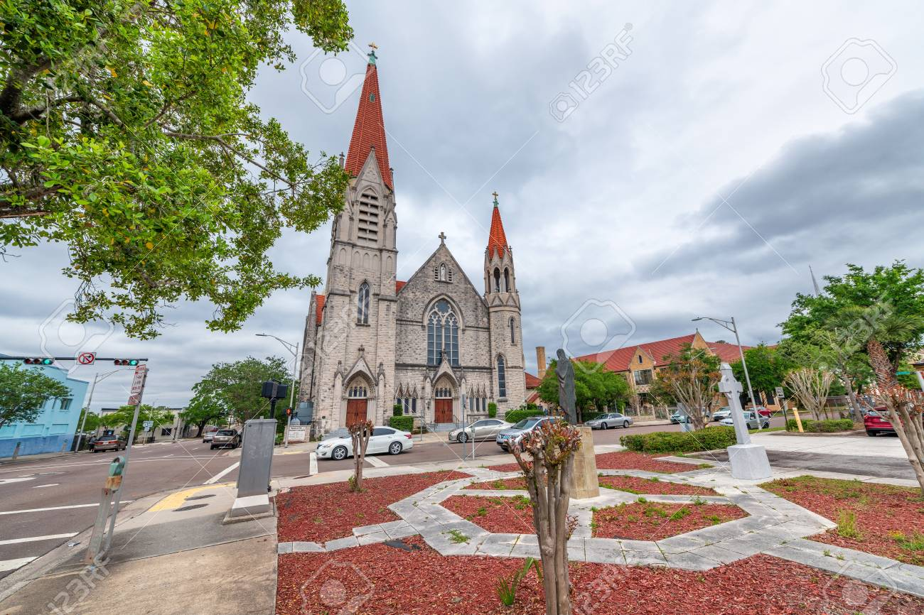Basilica Of Immaculate Conception Jacksonville Florida Usa