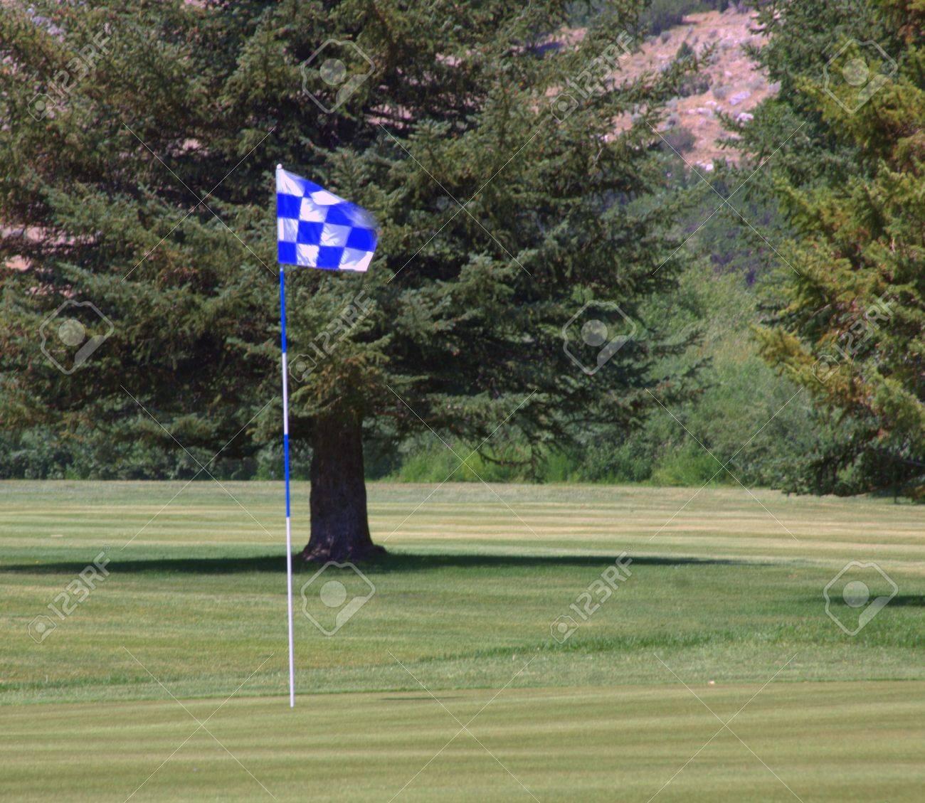 Green Golf Course Stock Photo - 14301921