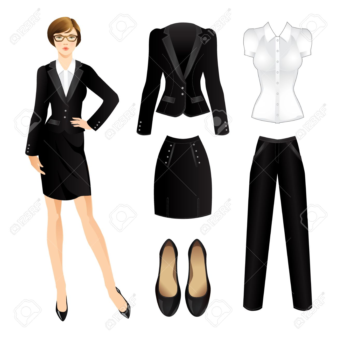 Office Clothes Clothes For Women Business Girl Or Professor