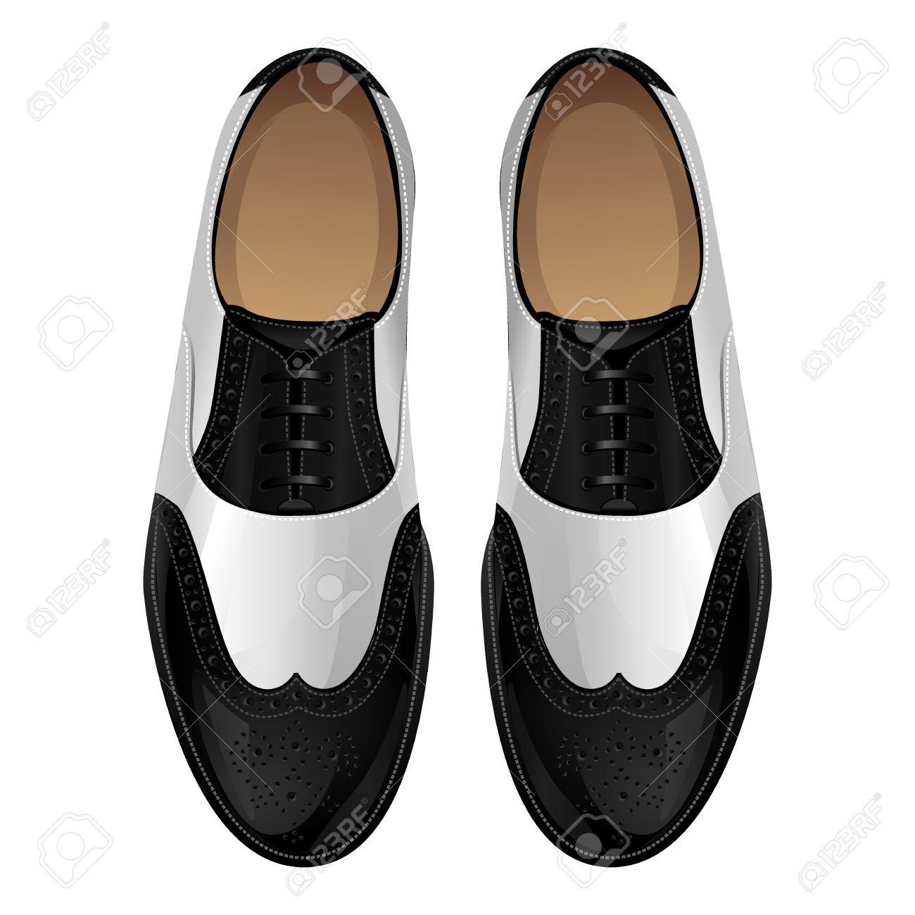 Zapatos En Y Clásicos Oxford Retro NegroEstilo Blanco qGSzpUMV