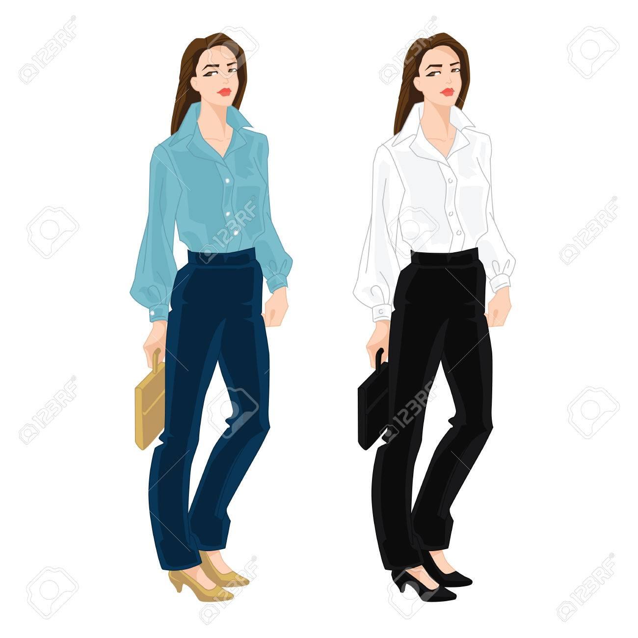 Vector Clipart - Business dress code. Vector Illustration gg97043760 -  GoGraph