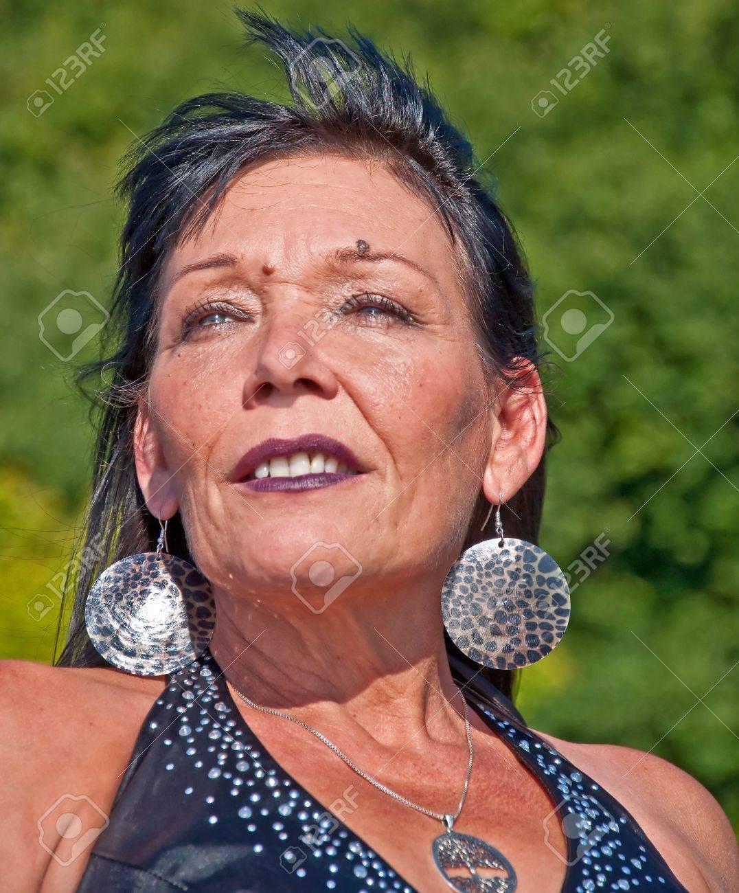 Native america mature sexy lady 10