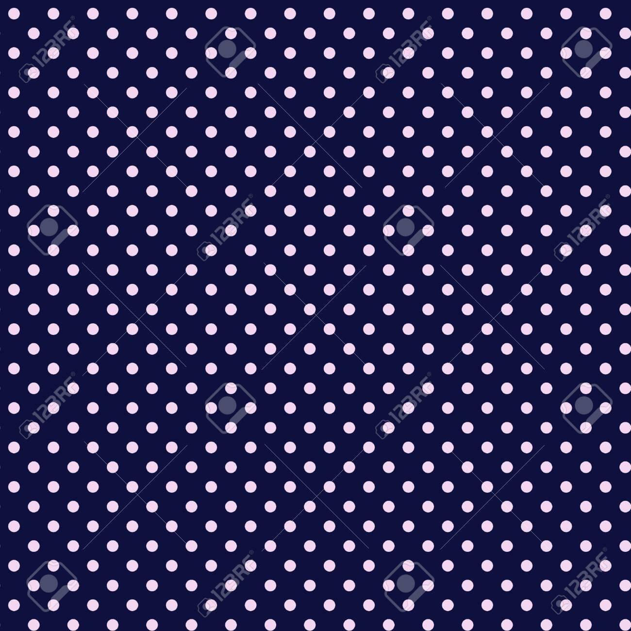 Polka Dot Pattern On Navy Blue Background These Small Dots Stock Photo Picture And Royalty Free Image Image 139687657