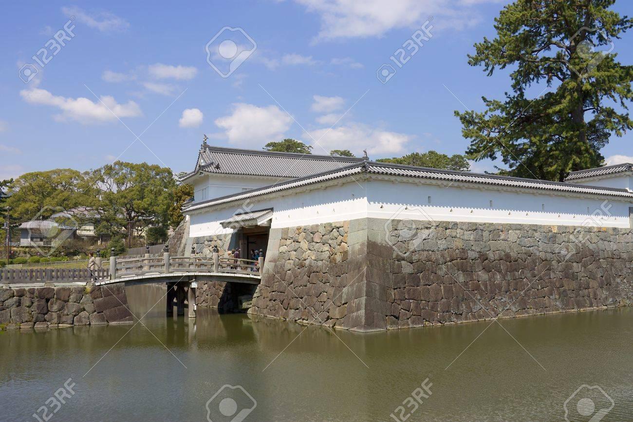 Akagane gate of Odawara castle, Japan  National Historic Site Stock Photo - 15246481