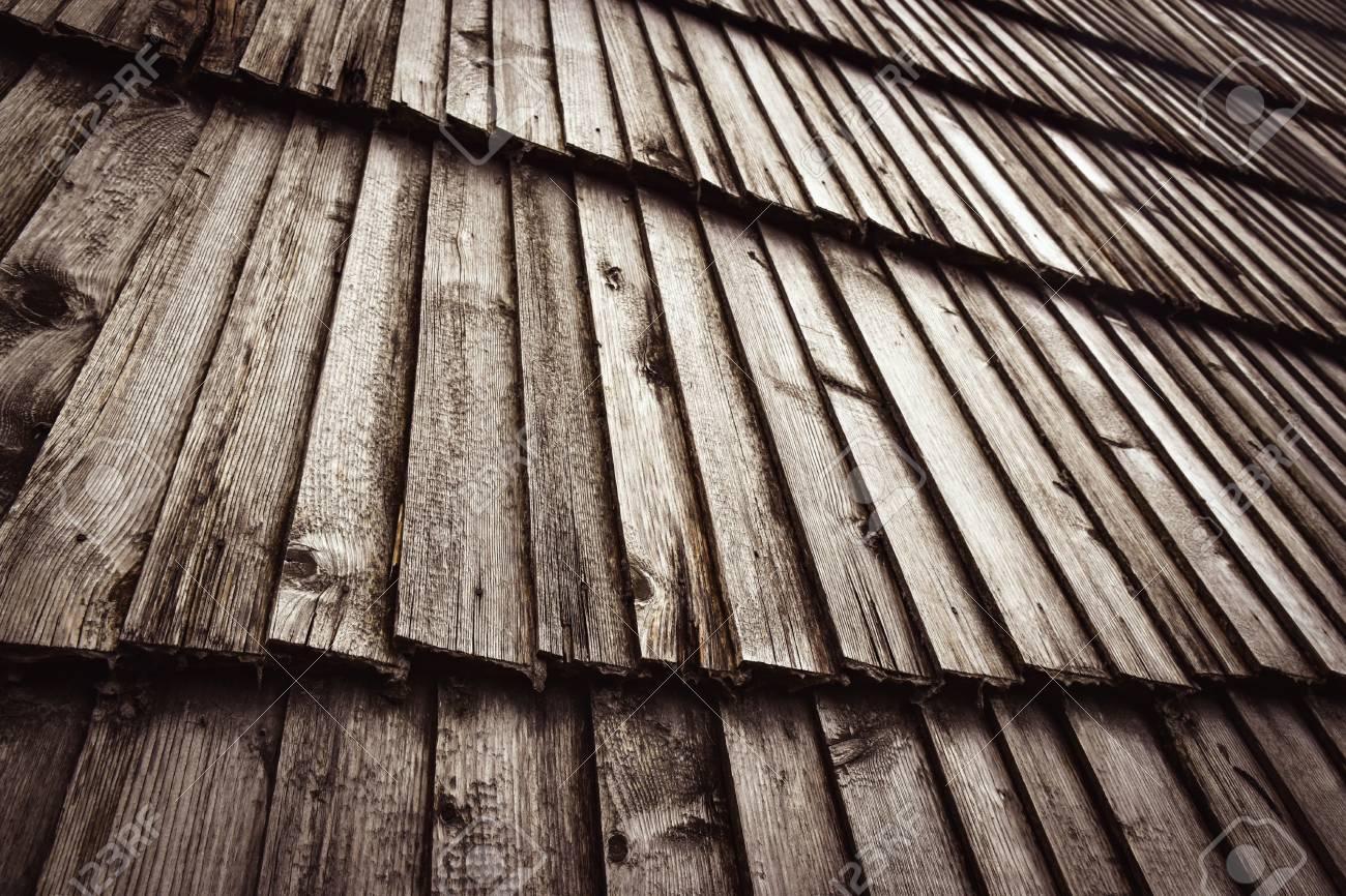 Come Dipingere Vecchie Tegole sfondo retrò weathered slant tegola in legno tetto