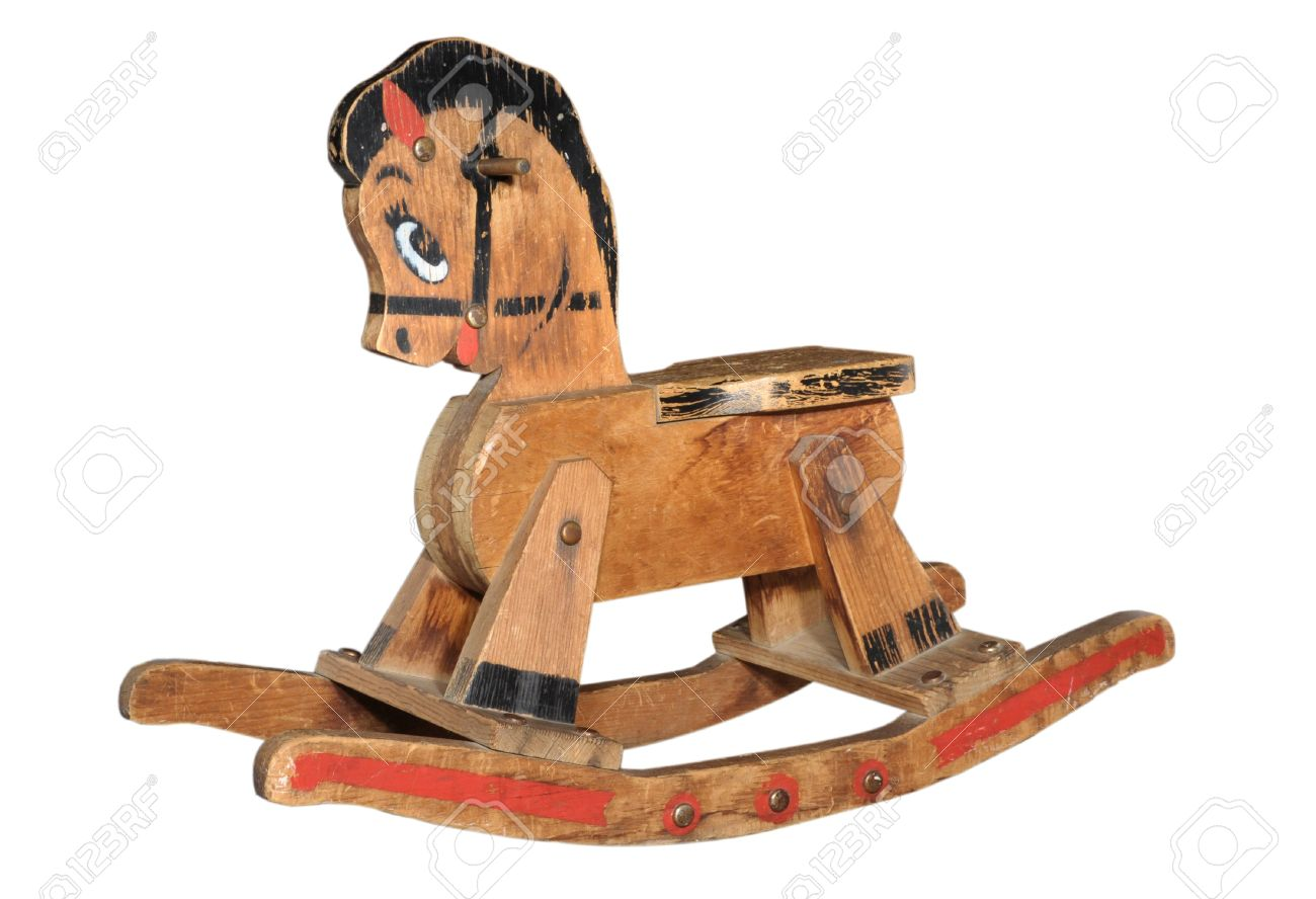 Antique Wooden Rocking Horse Stock Photo Picture And Royalty Free Image Image 11841992