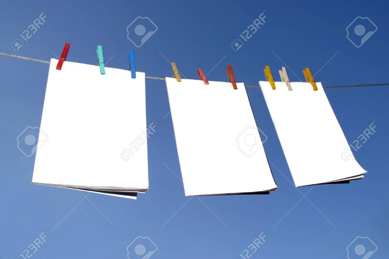 Blank publicity boards Stock Photo - 4219157