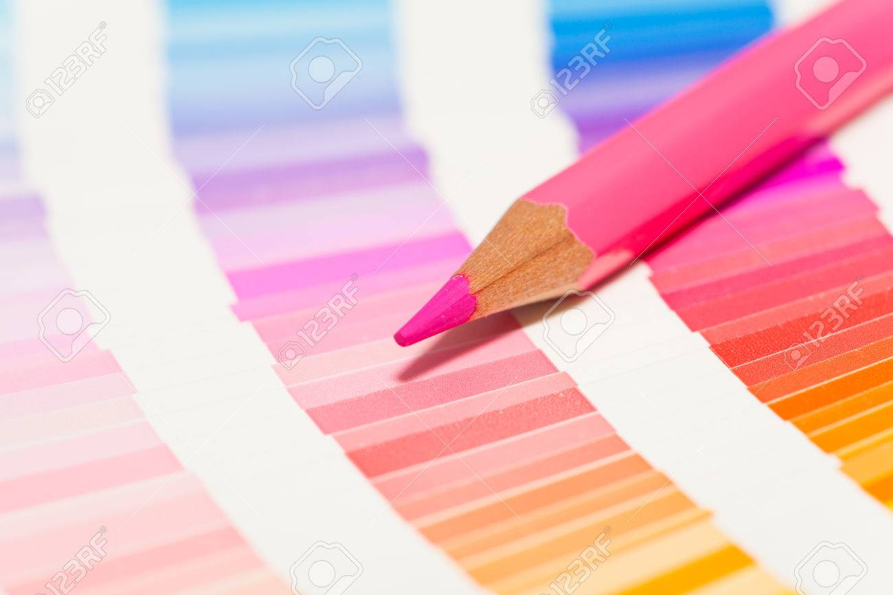 Red and pink colored pencils and color chart of all colors stock red and pink colored pencils and color chart of all colors stock photo 34378530 nvjuhfo Gallery
