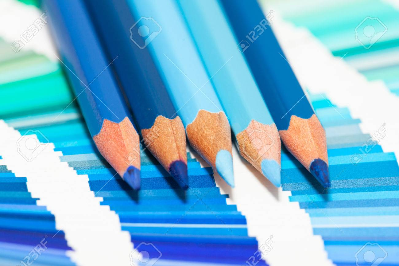 Blue colored pencils and color chart of all colors stock photo blue colored pencils and color chart of all colors stock photo 34378606 nvjuhfo Image collections