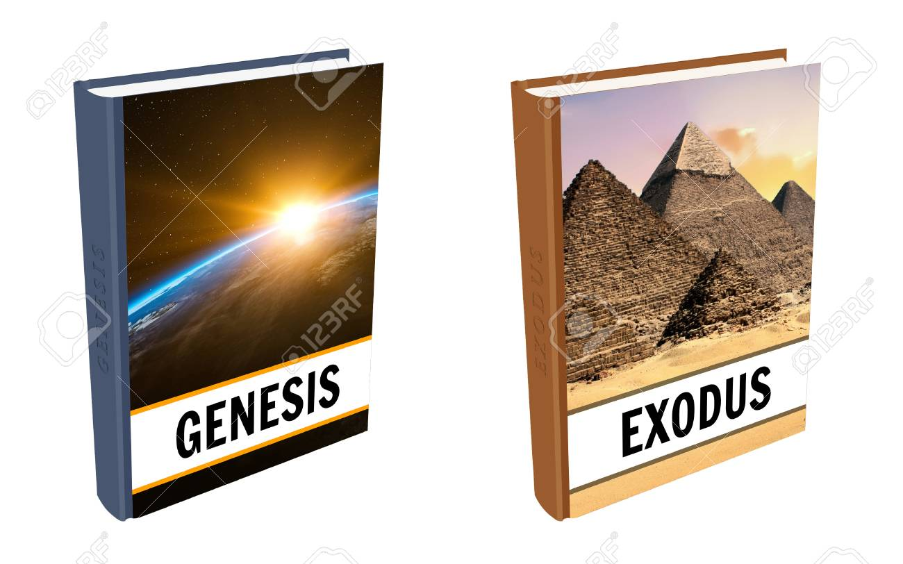 Bible books - Genesis and Exodus - 109041417