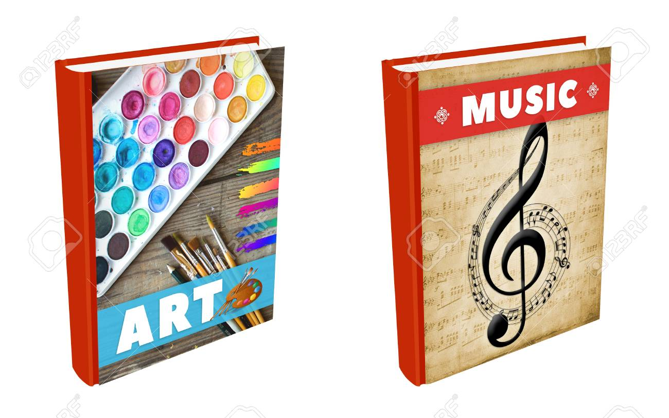 Books on Art and Music - 110226462