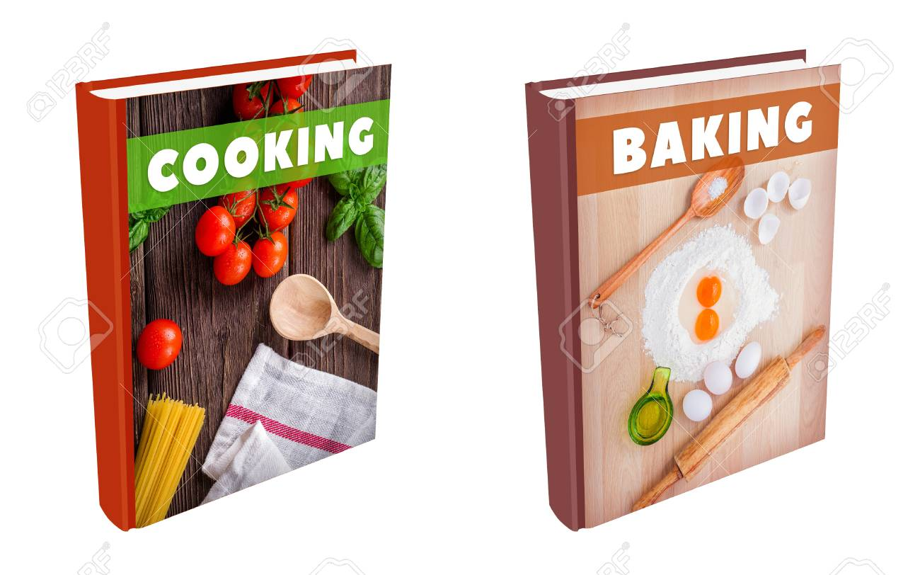 Books on cooking and baking. - 110225997