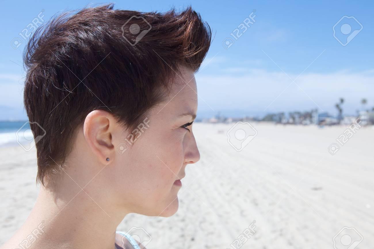 Profile of Beautiful Girl Stock Photo - 4963941