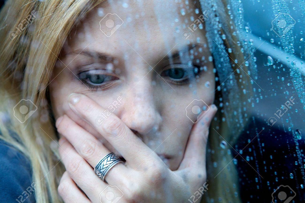 Unhappy Depressed Woman - 5024174