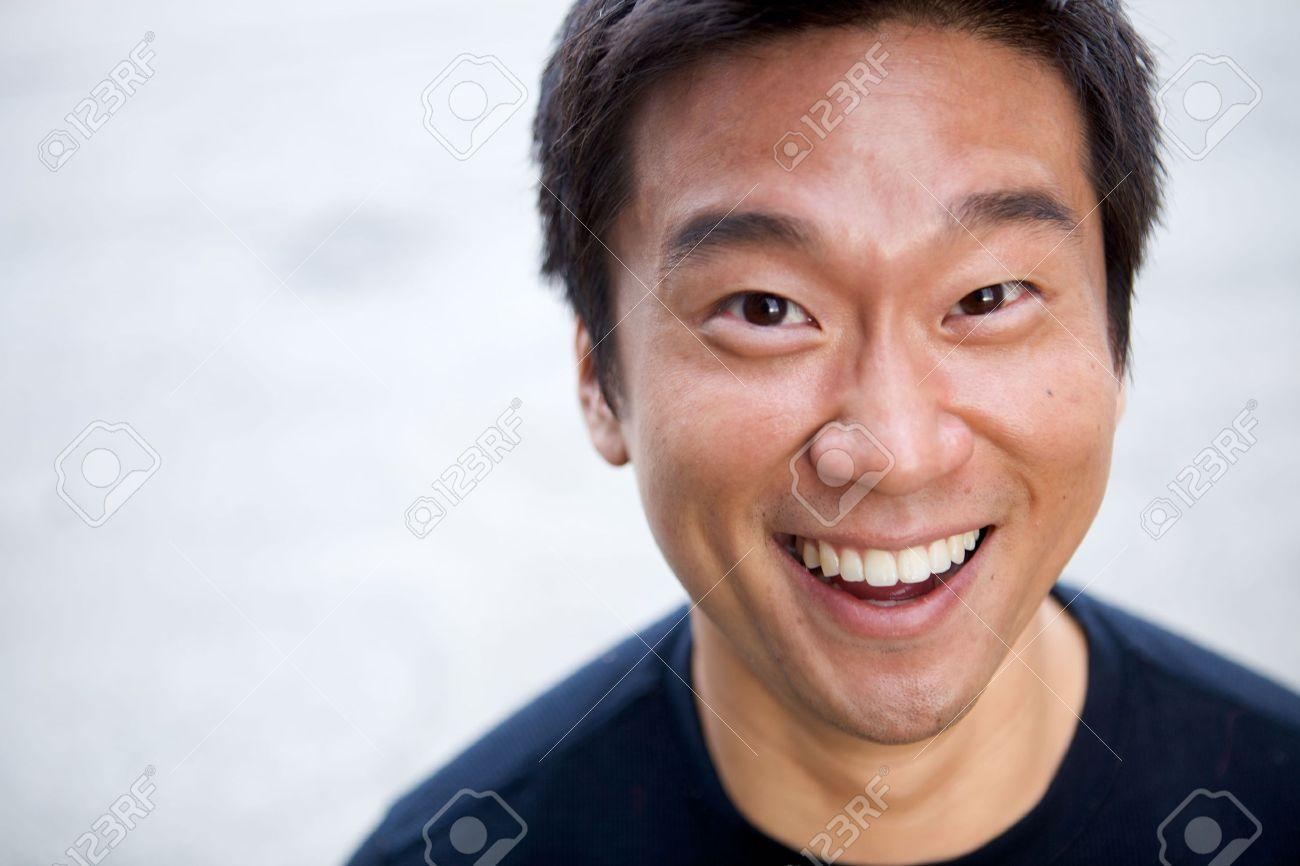 1e9617baeebac5 Banque d images - Portrait d un homme asiatique intéressants, avec une face  honnête