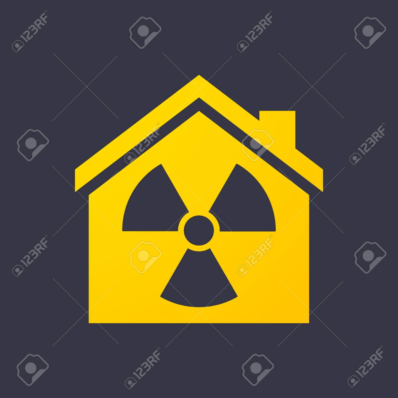 Illustration of an isolated house icon Stock Vector - 27439125